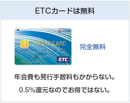 大丸・松坂屋カードのETCカードは無料