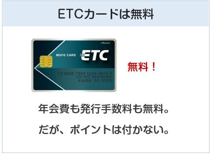 シェルスターレックスカードのETCカードは無料