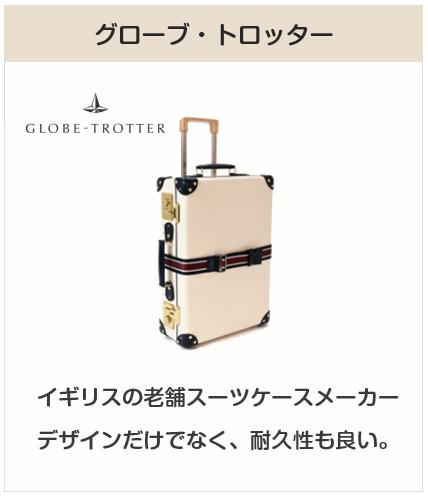 高級スーツケースブランド:グローブトロッター