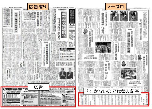 ノーズロ 新聞
